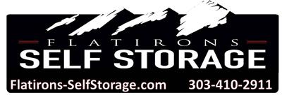 Flatirons Self Storage Logo